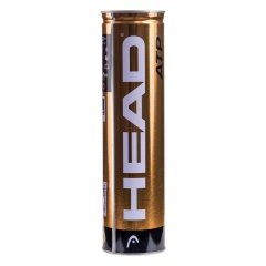Balles HEAD ATP (tube de 4)